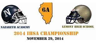 Naz Football Plays for IHSA State Championship
